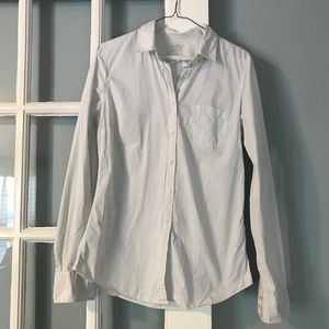 Jcrew the perfect shirt in blue